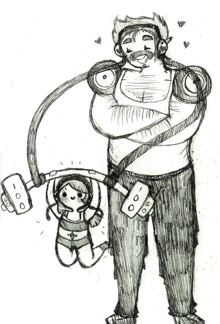 Daddy's Lil' Heavyweight by Ask-MusicPrincess3rd