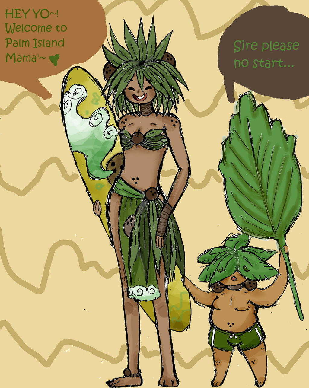 Palm Prince: Kanoa Palmelo by Ask-MusicPrincess3rd