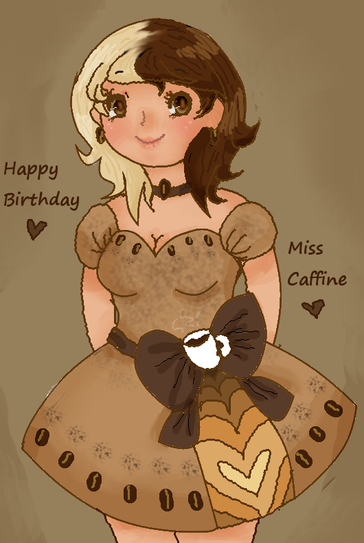 Birthday Dress by Ask-MusicPrincess3rd