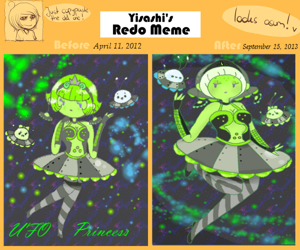 Redo Meme: UFO Princess by Ask-MusicPrincess3rd