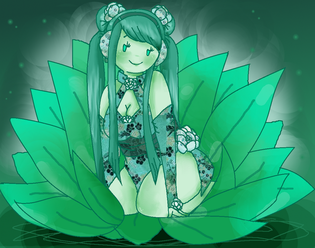 Jade Lotus by Ask-MusicPrincess3rd