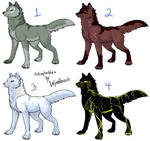 Wolf Adoptables - Closed