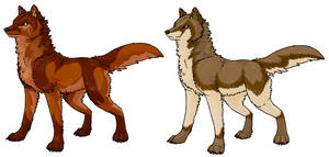 Draw-To-Adopt Wolves - Closed