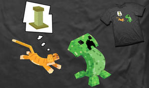 Why Creepers Fear Cats