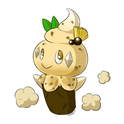 PKMNation: Toasted Coconut Vanillite - Coconillite by Wyndbain