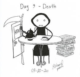 Day 9 - Death by MislamicPearl