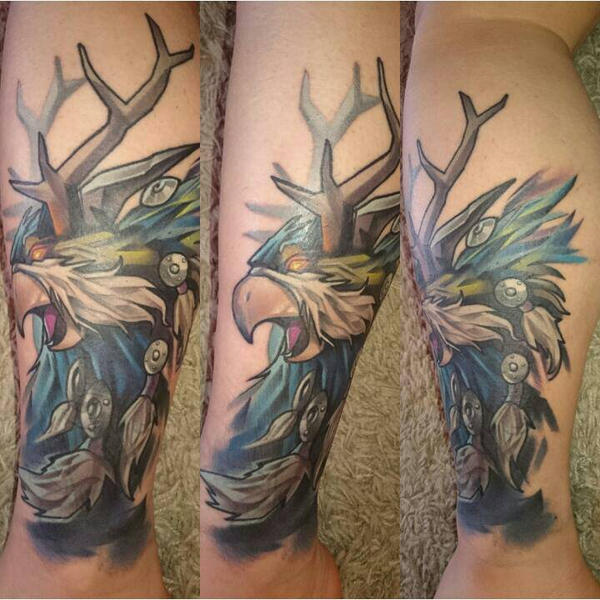 My Moonkin Tattoo By Porcicca On Deviantart