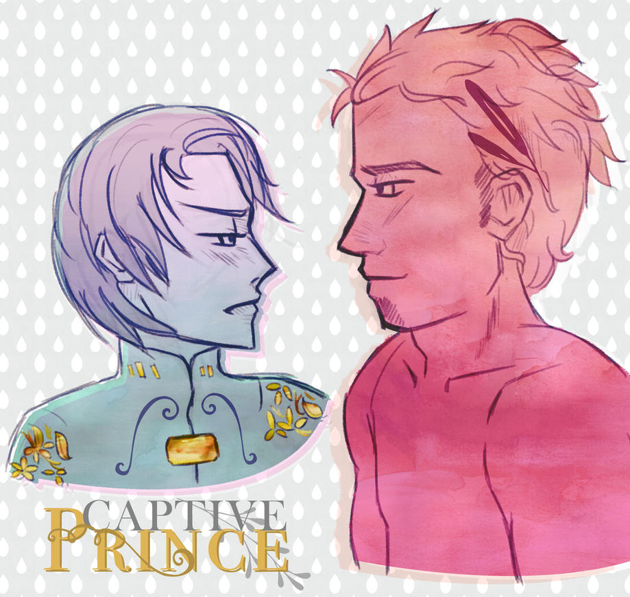 Captive Prince - Laurent and Damen fanart by yupon