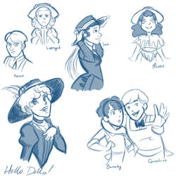 Hello Dolly concept sketches by dianapocalypse