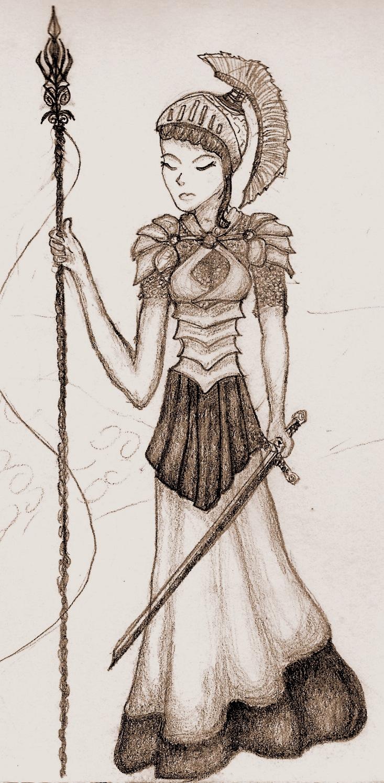 Athena Goddess Of Wisdom By Ieatcookiesinbed On Deviantart