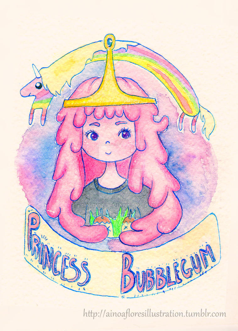 Princess Bubblegum by Nowii