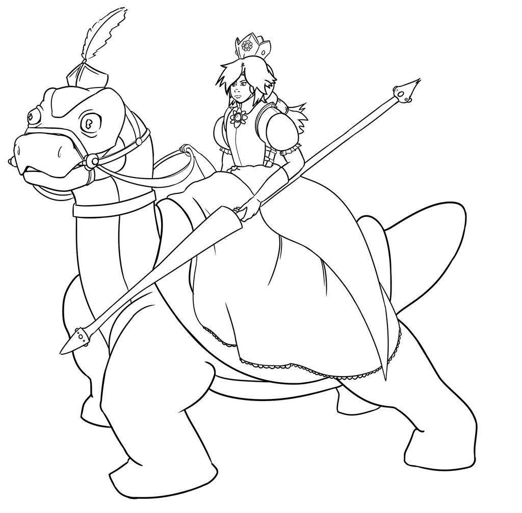 Daisy and Yoshi by Sighonics