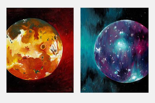 Io and Callisto