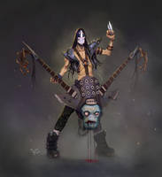 the heavy metal monster slayer by iBralui
