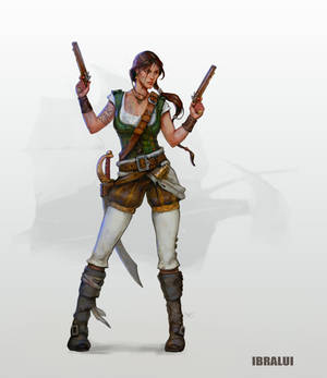 Lara Croft 1533