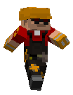 minecraft tf2 Engineer by Sethial