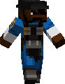 minecraft tf2 demoman by Sethial