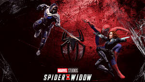 Spider-Man and Black Widow vs Taskmaster
