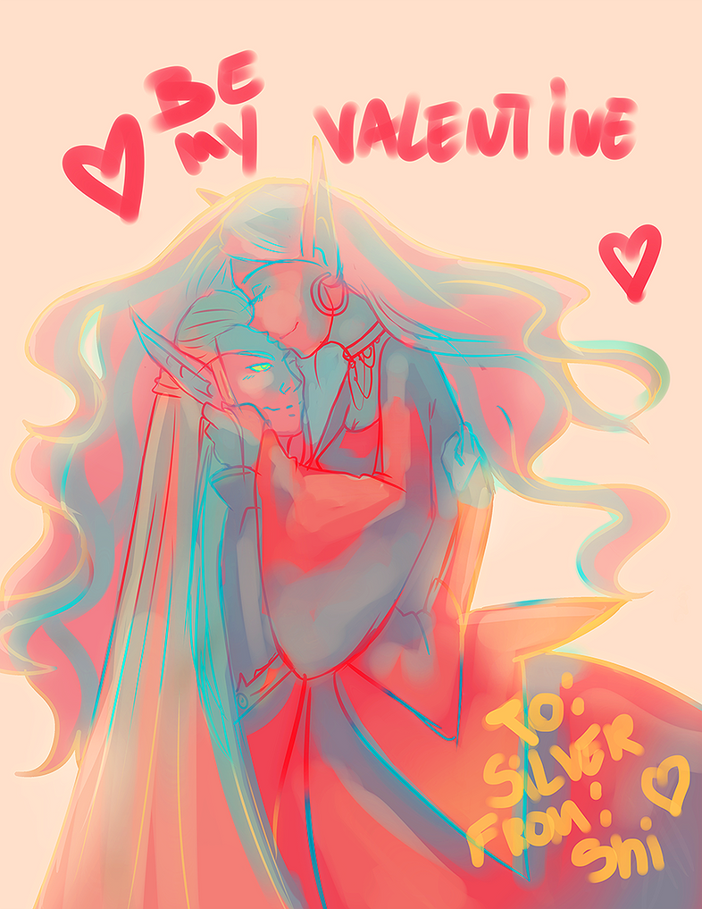 Be my valentine by RavenNoodle