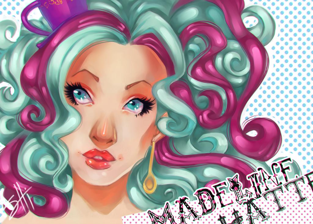 Madeline Hatter by RavenNoodle