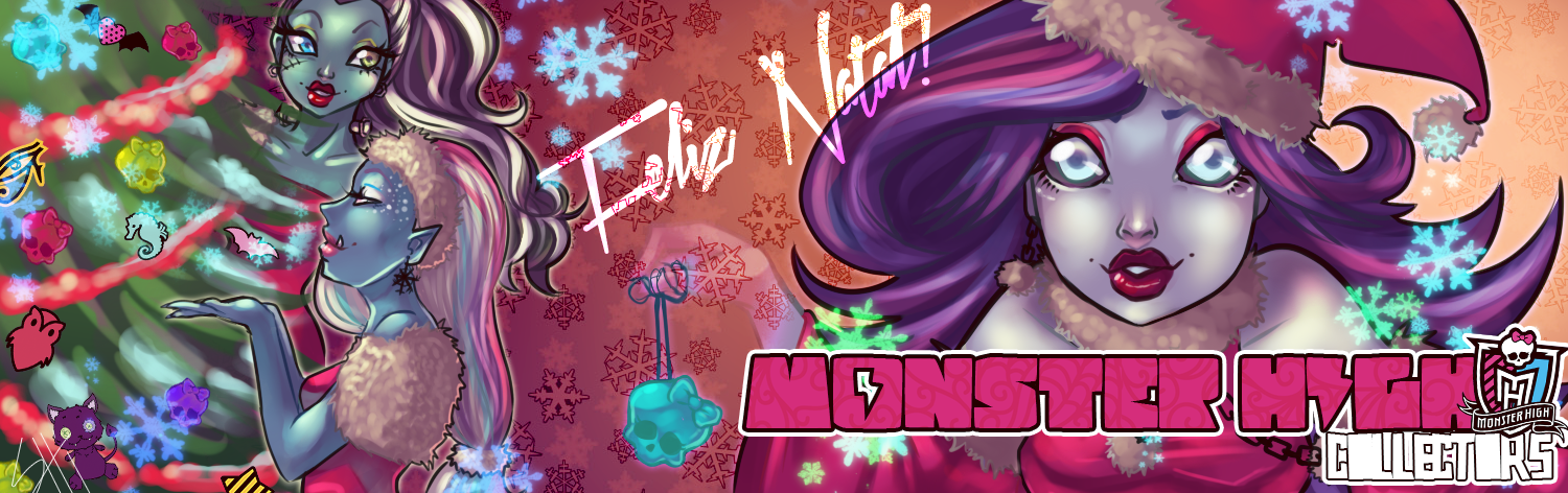 Monster High- Merry Christmas! by ShiChel on DeviantArt