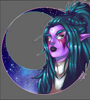 Tyrande by ShiChel