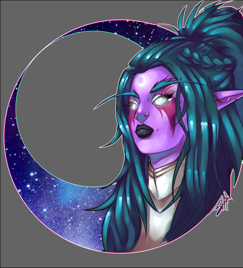 Tyrande by RavenNoodle