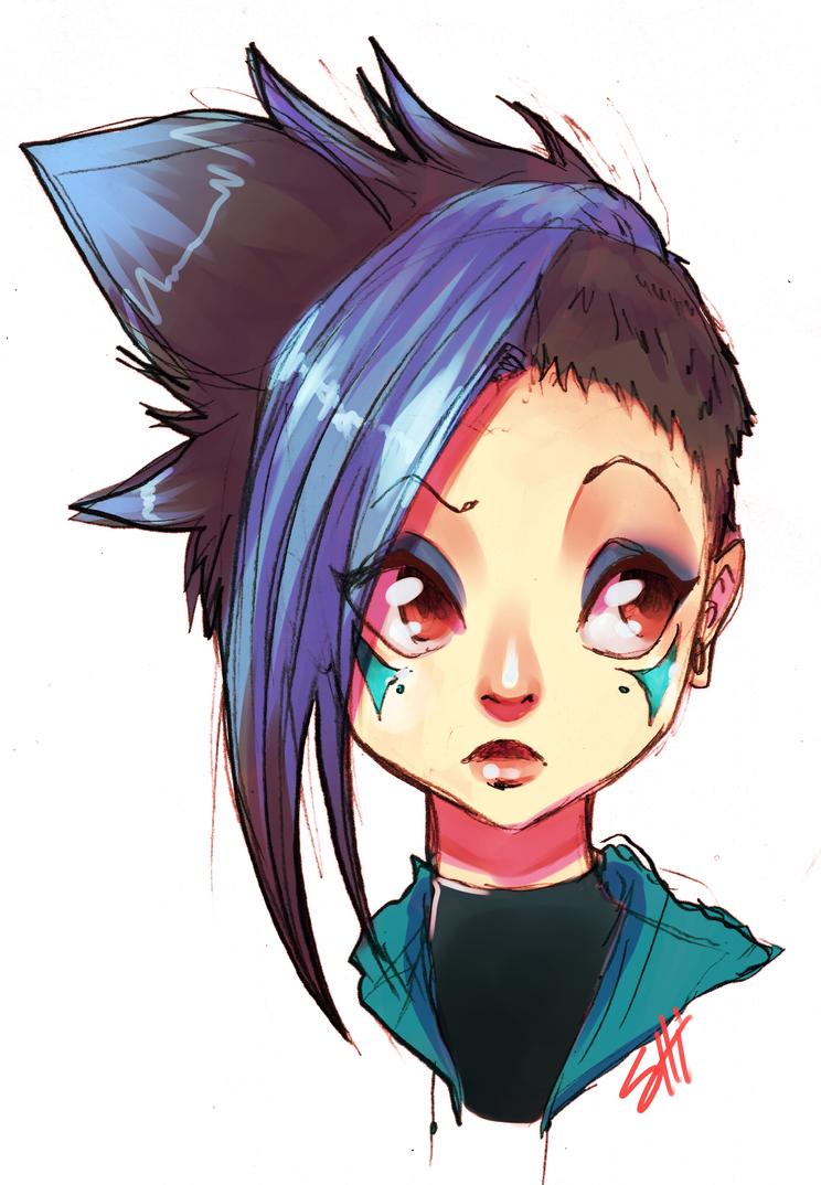 Yumi by RavenNoodle