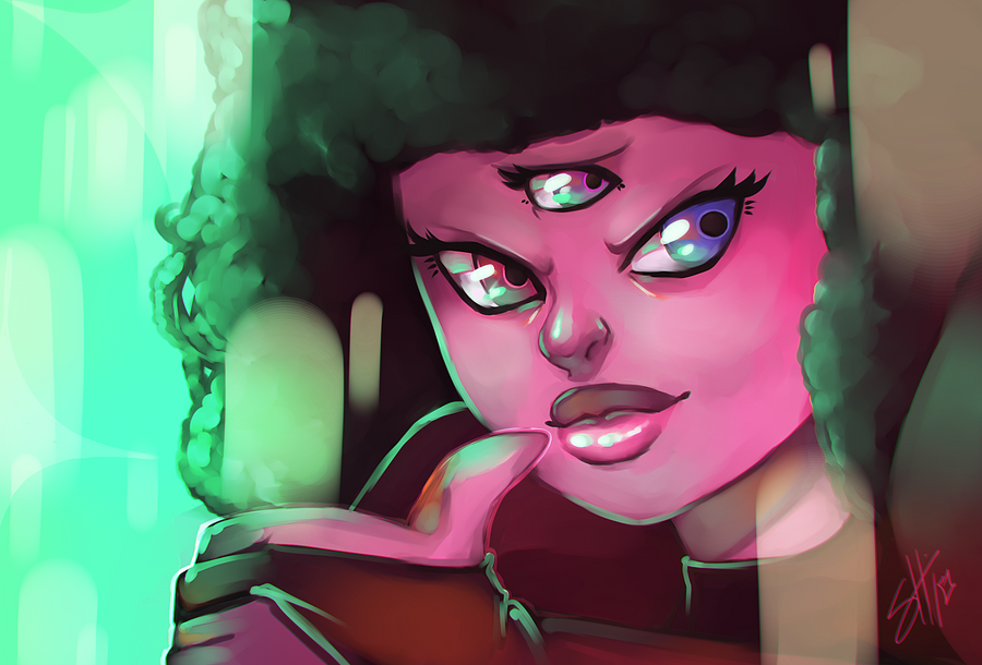 Garnet- Cause I'm so much better by RavenNoodle