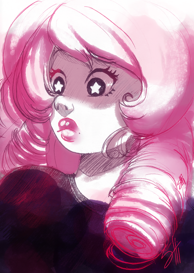>>> Commissions are Open! <<<Click here for the info and I really wanna play with you... Rose , everyone's space mom <3 From Steven Universe. My facebook page...