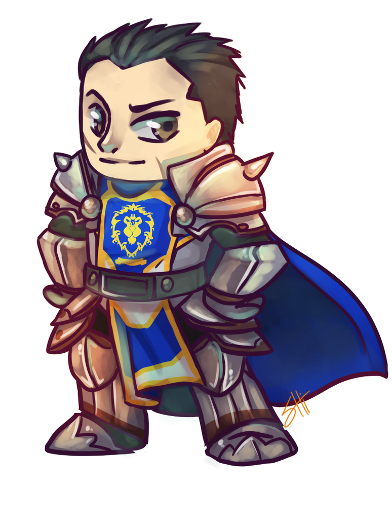 [Commission]Arhamis de Stormwind by RavenNoodle