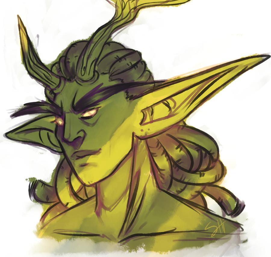 Green Elf by ShiChel