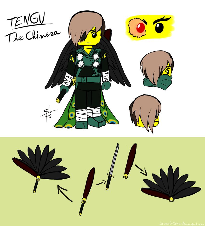 [Crystal of Evil] Tengu by SarahStoorne