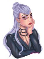 Evelynn K/DA League of Legends by DancingWithHandsTied