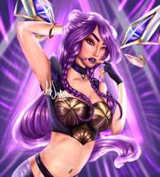 Kai'sa  K/DA League of Legends by DancingWithHandsTied