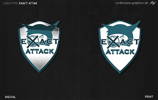 exact attack logo by syni-e