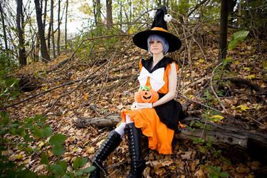Halloween Rei Ayanami by straywind