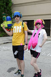 Inkling kids - Splatoon