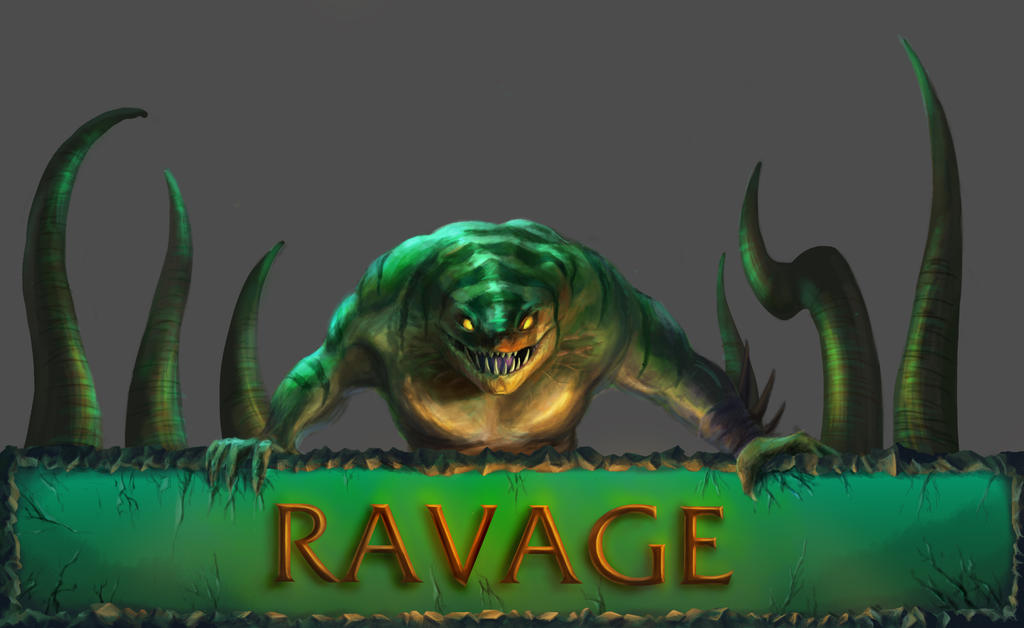 TideHunters Ravage Dota2 By Omikron74 On DeviantArt