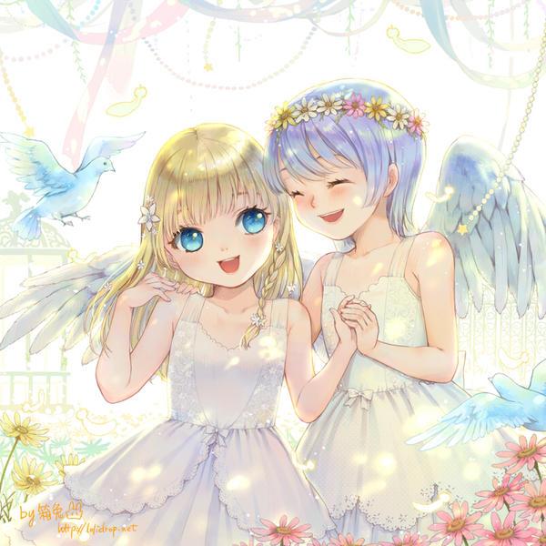 Angels by loli-drop
