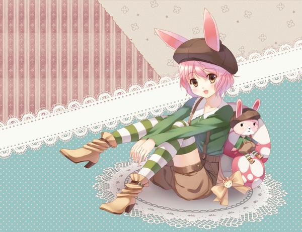 Rabbit Girl by loli-drop