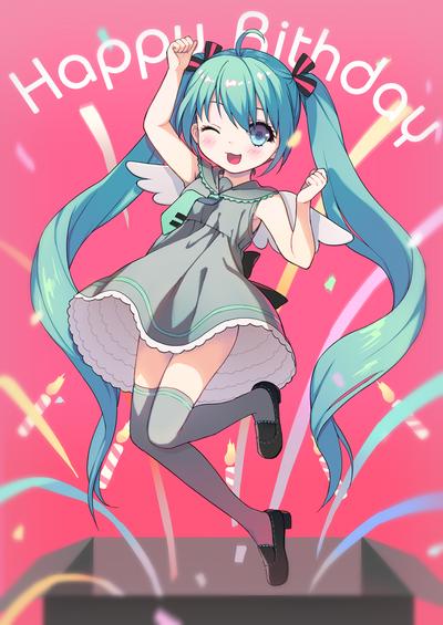 Hatsune Miku by loli-drop