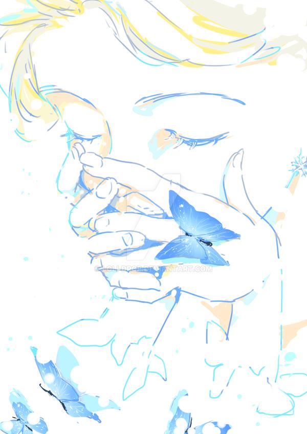 blue by loli-drop