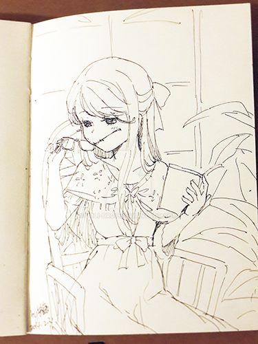 megane girl by loli-drop