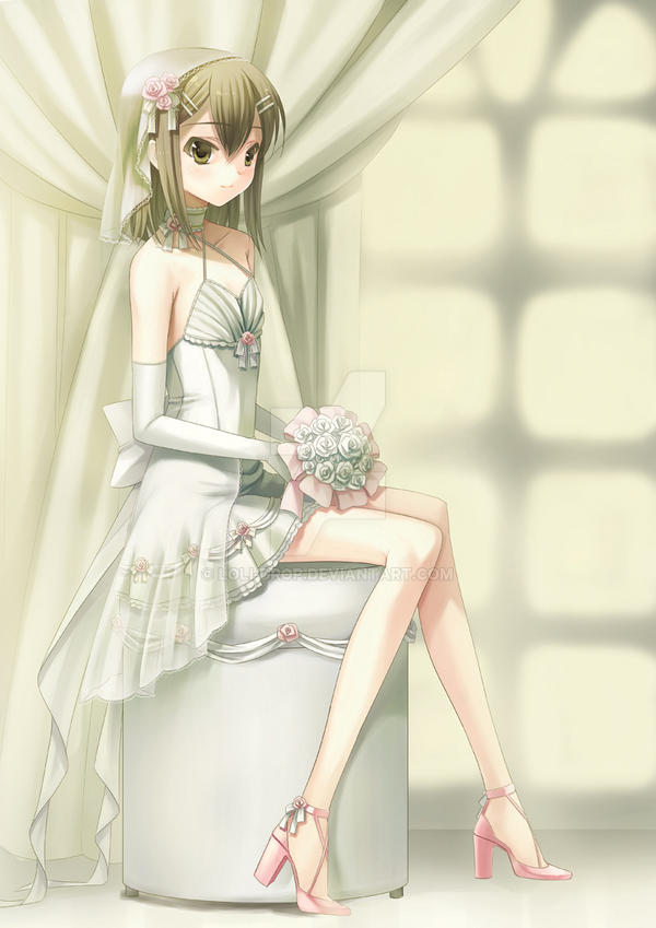 hideyoshi wedding ver by loli-drop