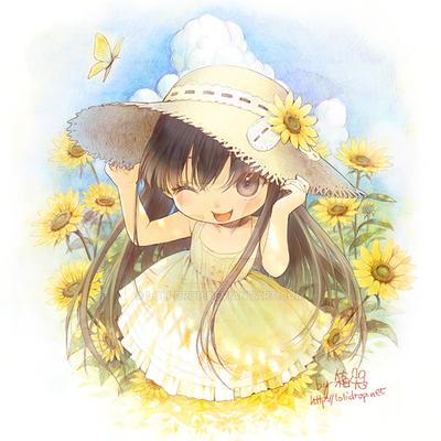 Sunflower by loli-drop