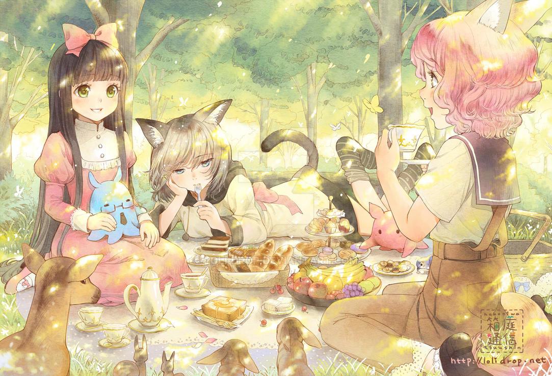 Teatime by loli-drop