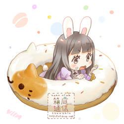 Donut by loli-drop
