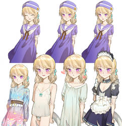 0116 Clair Standing by loli-drop