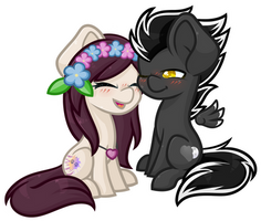 Chibicouple - Tulip And Silver by Ak4neh